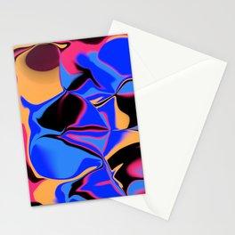dreamland color flow 3 Stationery Cards