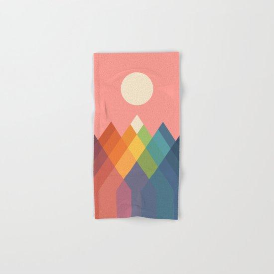 Rainbow Peak Hand & Bath Towel