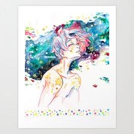 First Star Child. Art Print