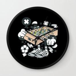 Football Table Wall Clock
