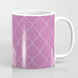 Spring Crocus Quatrefoil Coffee Mug