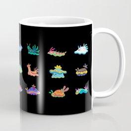 Sea slug - black Coffee Mug
