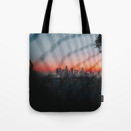 Los Angeles at Sunset Tote Bag