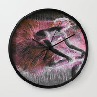 ballerina Wall Clocks featuring ballerina. by PureVintageLove