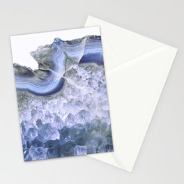Intense Blue Agate Stationery Cards