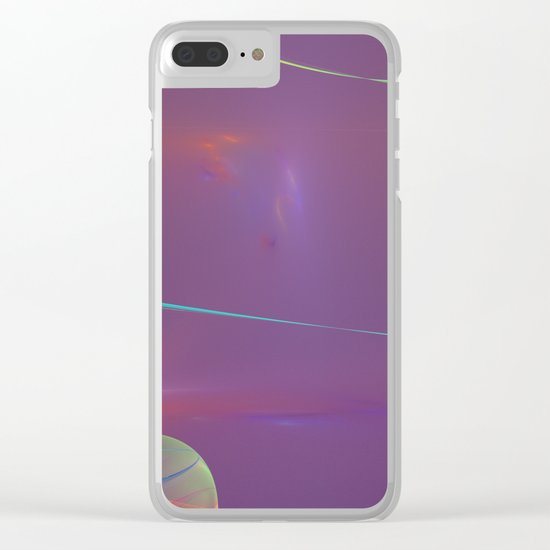 Galaxie Clear iPhone Case