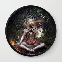 Sacrament For The Sacred Dreamers Wall Clock