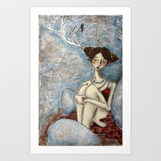 The Anticipation of Spring Art Print
