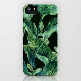 Isolde Leaves Ι iPhone Case
