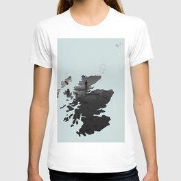 'Wandering' Scotland map T-shirt