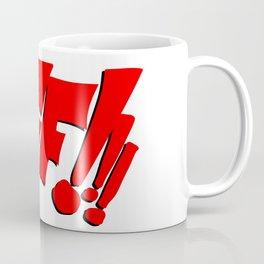 1966 Bat TV Show BIFF!!! Art Coffee Mug