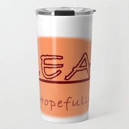 real Travel Mug