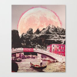 Amo Venecia Canvas Print