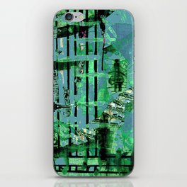 Green Dervish iPhone Skin