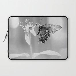 Butterfly B&W Laptop Sleeve