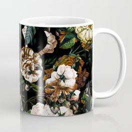 Floral Night Garden Coffee Mug