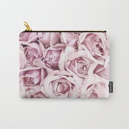 Blush Roses Carry-All Pouch