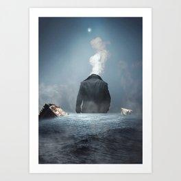 Ozymandias Destroyer of Worlds Art Print