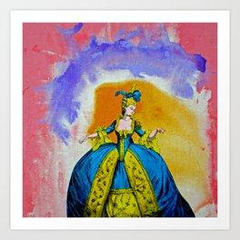 Marie Antoinette by Michael Moffa Art Print