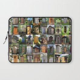 Outhouses Laptop Sleeve