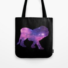 SPACE LION Tote Bag