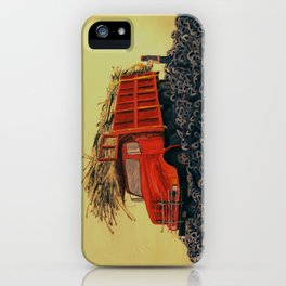 sugar cane and truck on fire iPhone Case