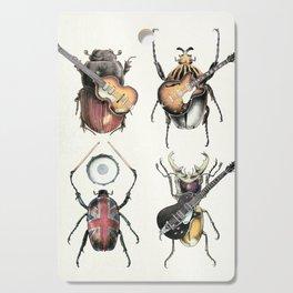 Meet the Beetles (white option) Cutting Board