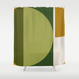 Shapes 02 Shower Curtain