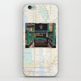 """""""Commuter"""" iPhone Skin"""