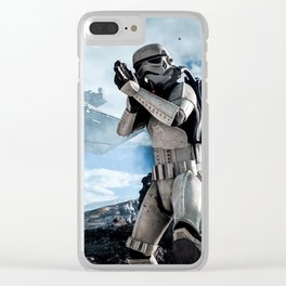 Battlefront Clear iPhone Case