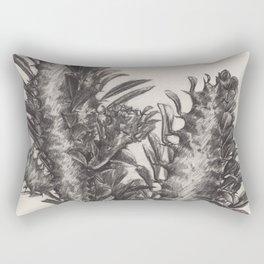 dibujo de un cactus Rectangular Pillow