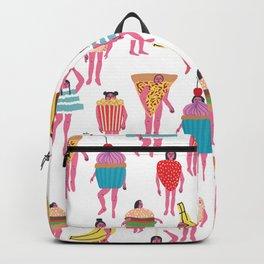 Funky Fancy Dress Pink Ladies Backpack