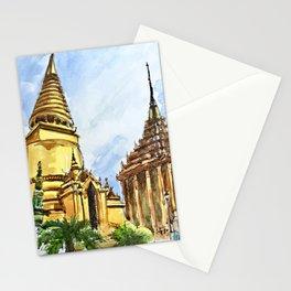 Bangkok Buddhist Temple Thailand Stationery Cards