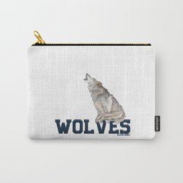 wolves sel Carry-All Pouch