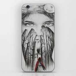 Little Red Riding Hood Collab iPhone Skin