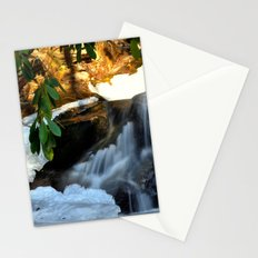 Winter's Rush Stationery Cards