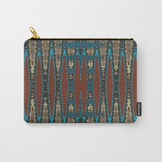 South Western Color Palette Mosaic Pattern Carry-All Pouch
