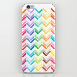 Colourful pattern iPhone Skin