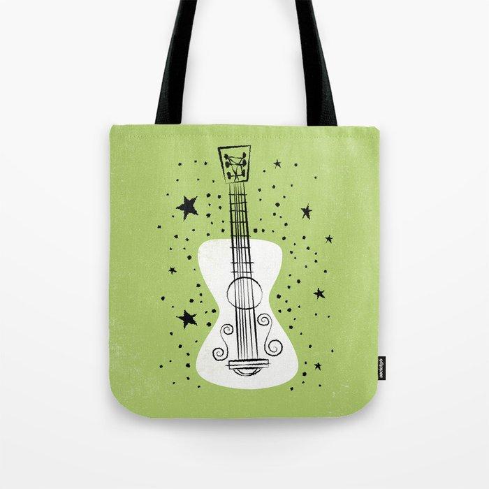 POP GUITAR Tote Bag