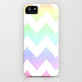 Watercolor Chevrons iPhone Case