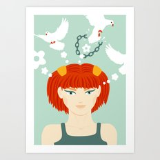 Mind Unchained Art Print