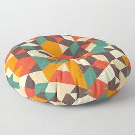 Retro Metric Floor Pillow