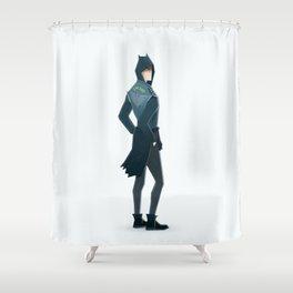 The bat - super rockers Shower Curtain