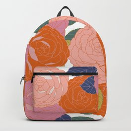 Flowers In Full Bloom Backpack