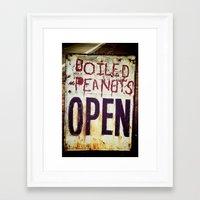 peanuts Framed Art Prints featuring Peanuts by BrandonAddisArt