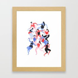 Behave Framed Art Print