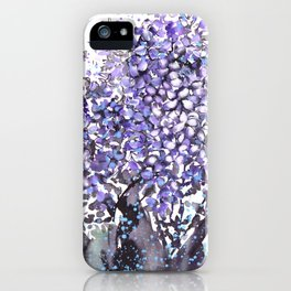 Sumie No.13 hyacinth iPhone Case