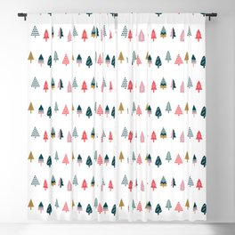 Christmas Trees (Arctic) Blackout Curtain