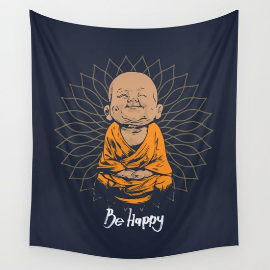Be Happy Little Buddha by greennatural