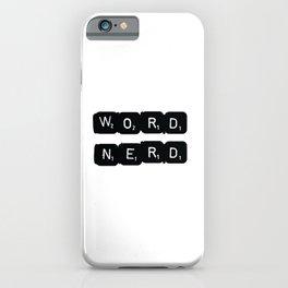 Word Nerd iPhone Case